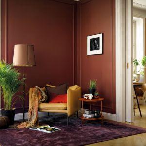 Farba ścienna Beckers Designer Colour, kolory Cherry, Luna. Fot. Beckers.