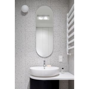 Jasna, nowoczesna łazienka. Projekt: pracowni 3XEL. Fot. Dariusz Jarząbek