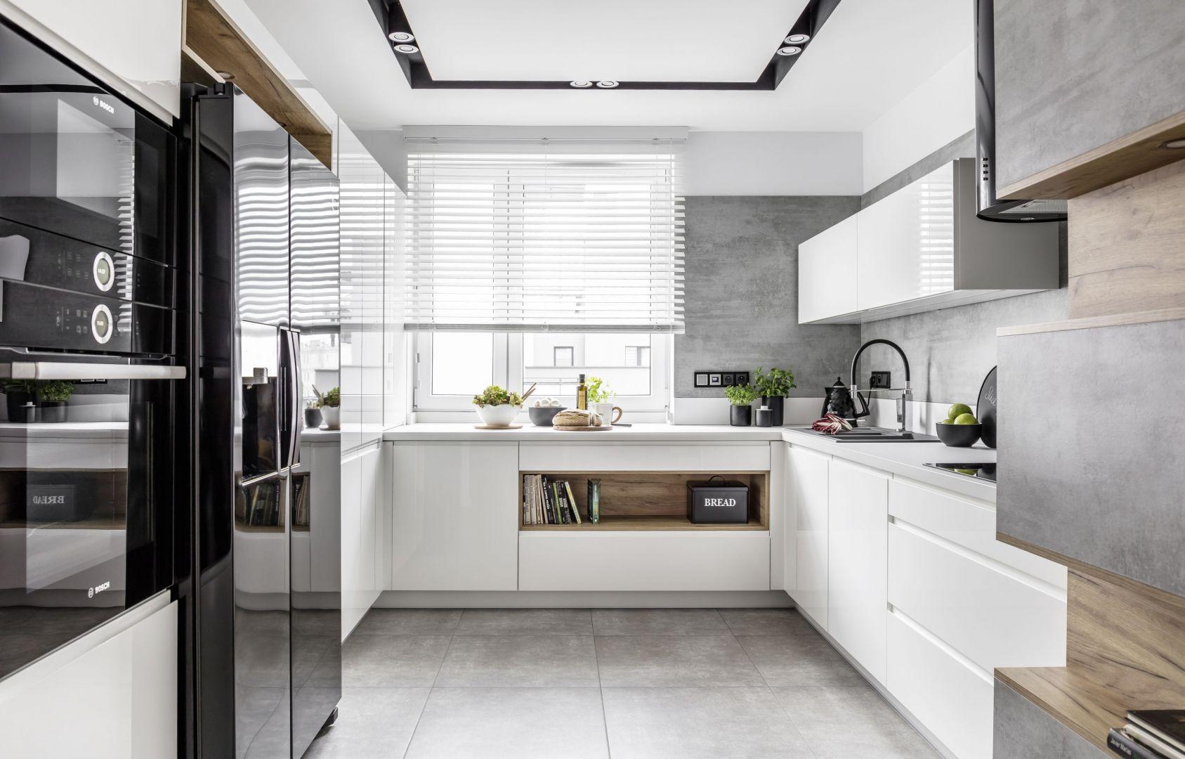 Biała kuchnia z oferty Atlas Kuchnie