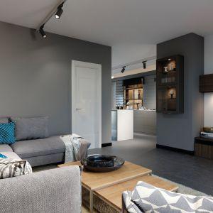 Lampy Kanlux ACORD ATL1 w czarnym kolorze idealnie pasują do nowoczesnego wnętrza. Fot. Kanlux