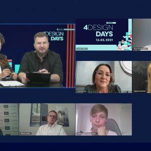 """Uczestnicy debaty """"Mieszkaniowa Moda. Jak będziemy mieszkać po pandemii?"""""""