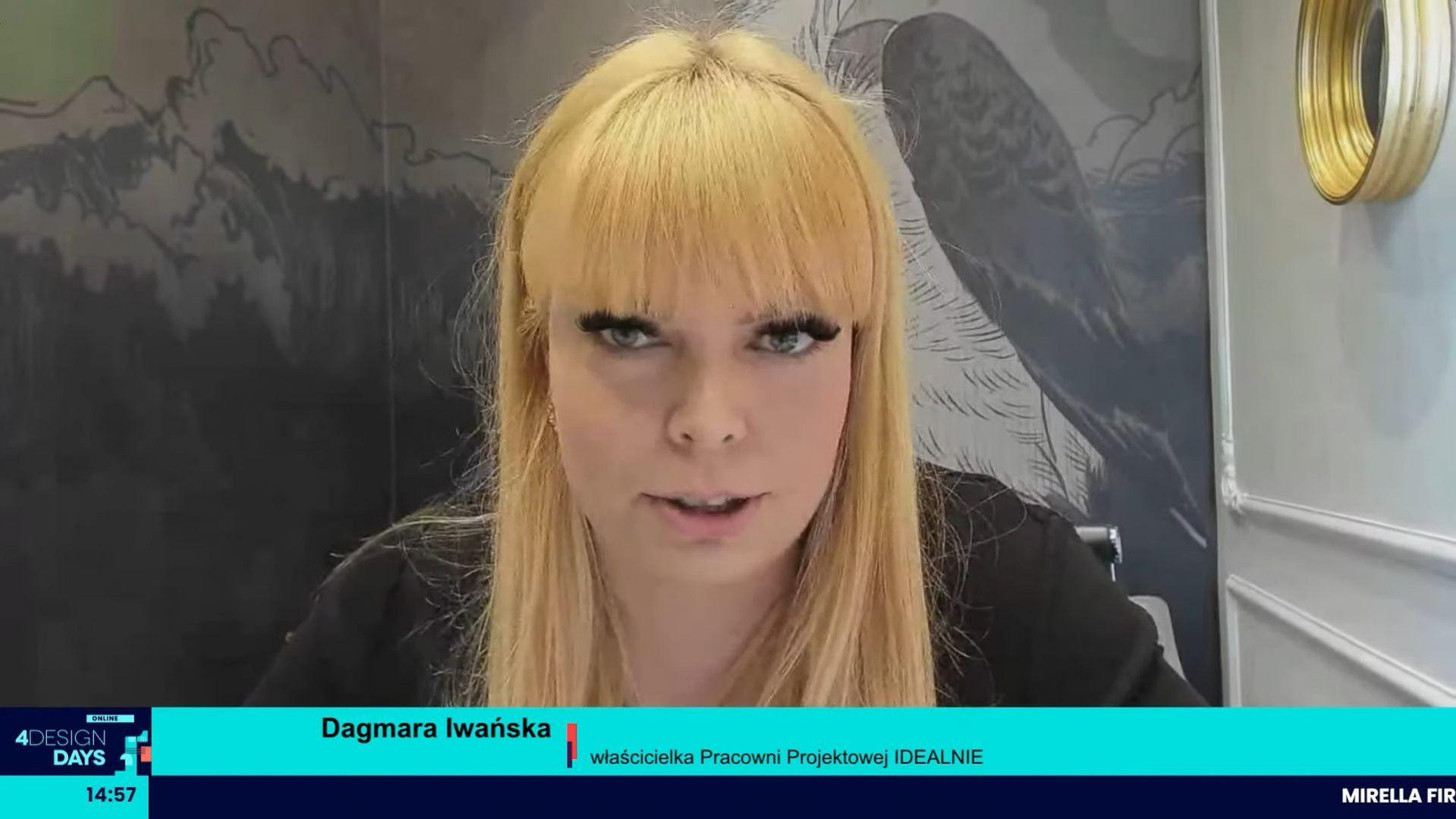 Dagmara Iwańska, właścicielka IDEALNIE Pracownia Projektowa