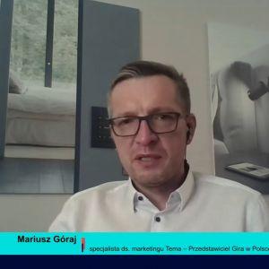 Mariusz Góraj, specjalista ds. marketingu Tema – Przedstawiciel Gira w Polsce