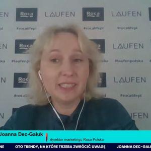 Joanna Dec-Galuk, dyrektor marketingu Roca Polska: Intensywnie pracujemy na miano pioniera i trendsettera.