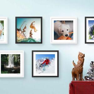Piękne zdjęcia w ramkach prosto z telefonu. Fot. ClickPic