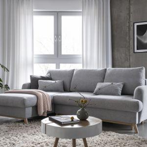 """Narożnik Scandic Lagom łączy w sobie prostotę, funkcjonalność i estetyczną bryłę narożnika """"S"""" zaprojektowanego do mniejszych wnętrz takich jak salonu w bloku. Fot. Miuform/B-Line"""