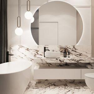 Apartament projektu Moovi Interiors