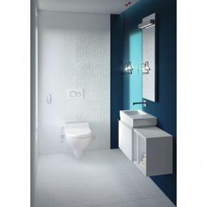 Deska myjąca Geberit AquaClean Tuma ułatwia higienę i gwarantują większy komfort codziennego korzystania z toalety. Fot. Geberit