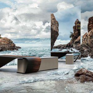 Awangardowa forma biurka Styal została zaprojektowana, by radykalnie zmienić wyobrażenia o pracy w domu. Fot. Bentley Home