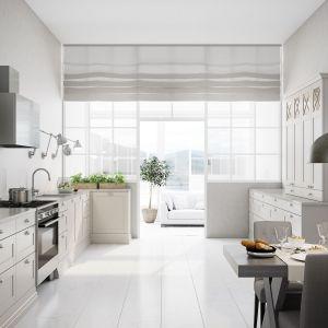 Biała kuchnia w stylu skandynawskim. Fot. Sigdal