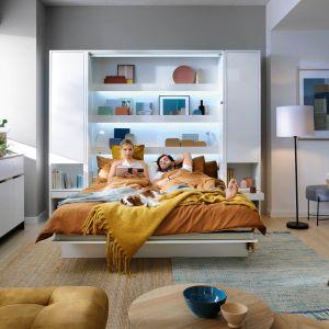 Bed Concept to rozwiązanie dla każdego, kto nie ma miejsca na klasyczne łóżko, a chciałby spać wygodnie, jak w prawdziwej sypialni. Fot. Dignet Lenart