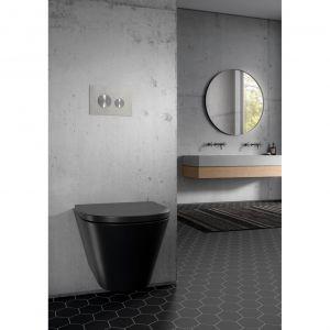 Styl loftowy pasuje zarówno do dużej, jak i mniejszej łazienki. Fot. Tece