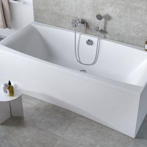 Wanny wyróżnia ergonomiczny kształt i elegancki design. Fot. Cersanit