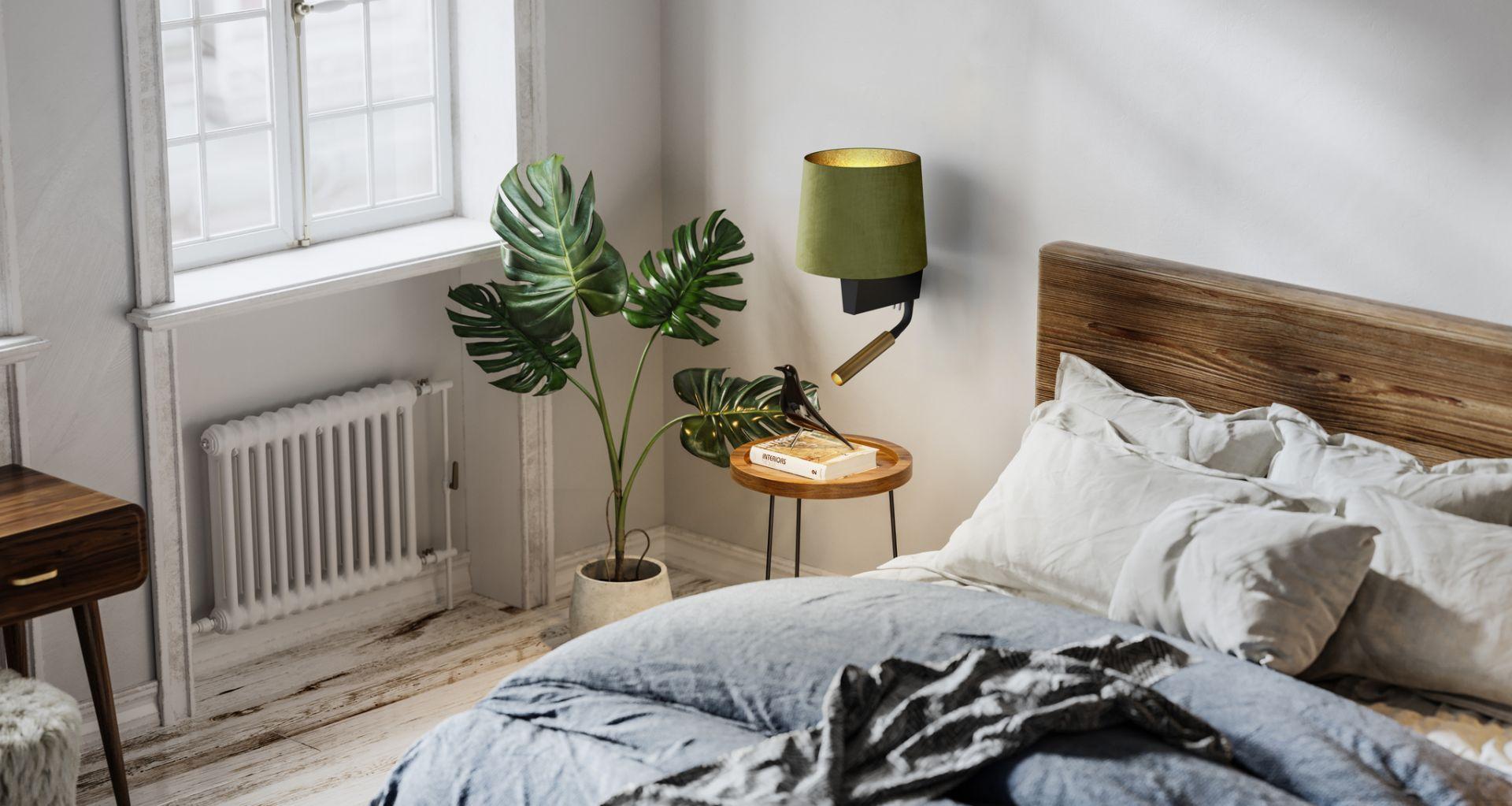 Lampki Chillin montuje się bezpośrednio do ściany, a włącznik, umiejscowiony dyskretnie w podstawie wykonanej ze stali lakierowanej, zapewnia wygodę użytkowania. Fot. Nowodvorski Lighting