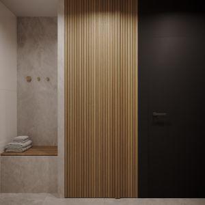 Strefa wejściowa mieszkania. Projekt: architekt Sebastian Marach, YONO Architecture, MAST. studio - Maria Trojnara, Joanna Stawiak