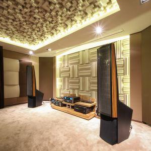 Symetryczne pomieszczenie odsłuchowe. Fot. Nyquista Acoustic Design