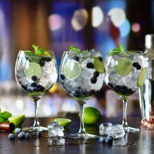 Aranżacja z owoców, napojów, syropów i lodu może być dziełem sztuki. Fot. Krosno Glass