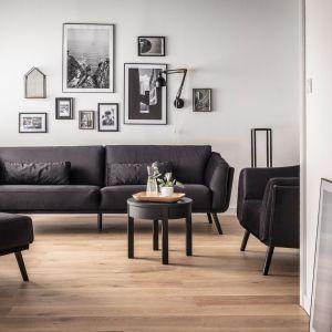 Sofa tapicerka Sophie black dostępna w salonach Vox za 4730 zł
