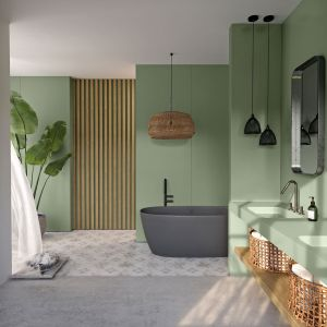 Silestone Posidonia Green Cosentino