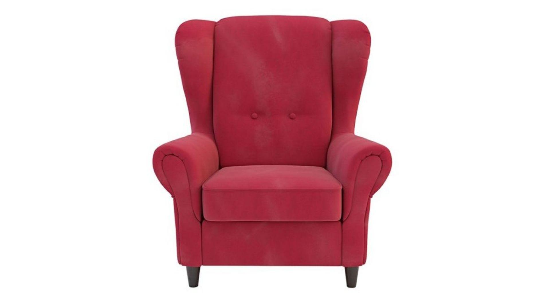 Dla kibiców, którzy dopingują w pojedynkę, dobrym rozwiązaniem będzie fotel. Na zdjęciu: fotel King. Fot. Salony Agata