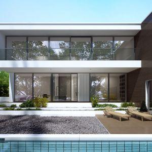 Duże przeszklenia wpływają pozytywnie na estetykę budynku, dodają bryle lekkości i scalają ją z zielonym otoczeniem domu. Fot. Aluprof