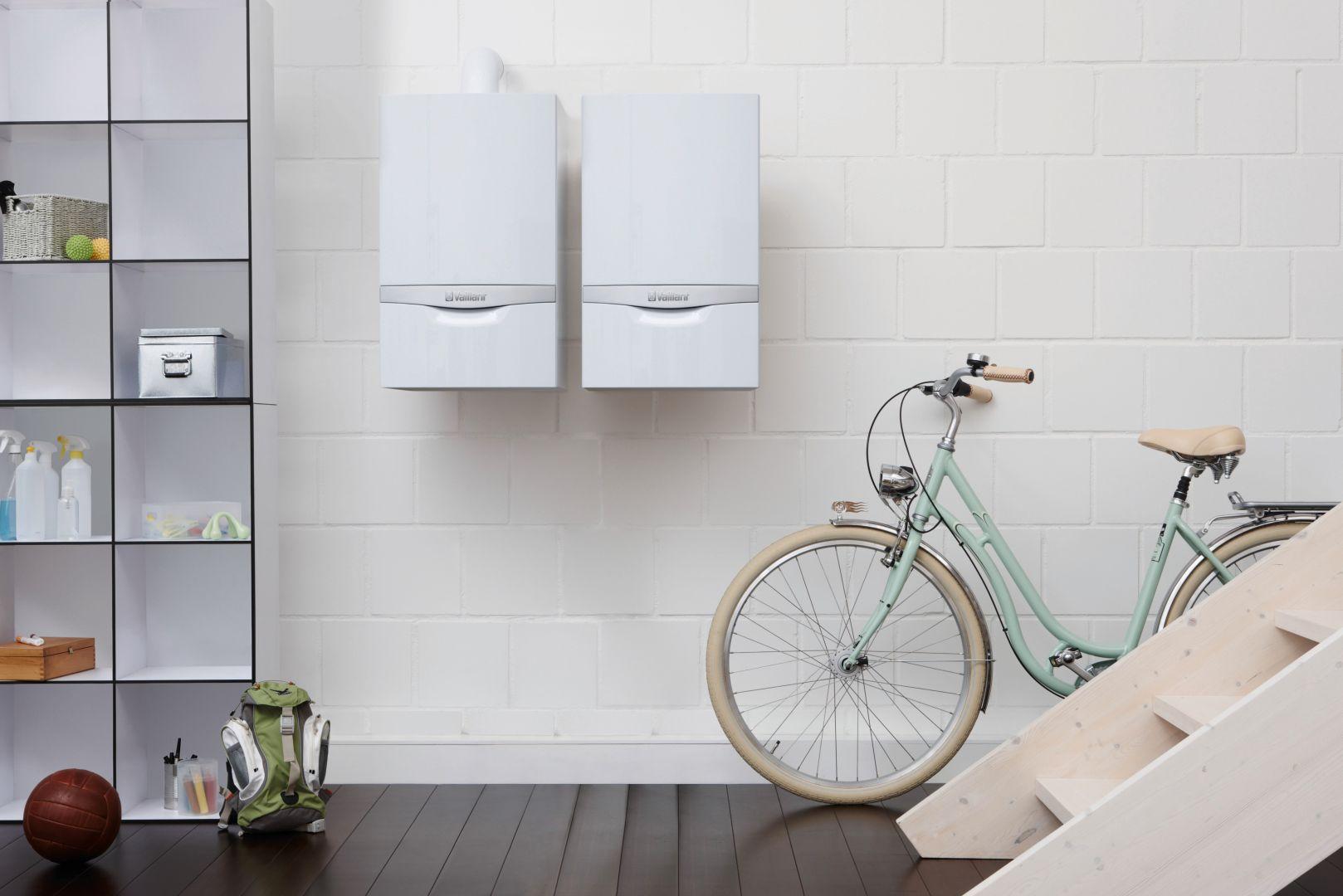 W domach wolnostojących, aby jeszcze skuteczniej korzystać z możliwości kotła kondensacyjnego, warto połączyć go z innymi rozwiązaniami systemowymi. Fot. Vaillant
