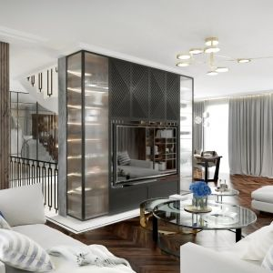Elegancko i ponadczasowo urządzony salon to marzenie wielu z nas. Projekt Tissu Architecture