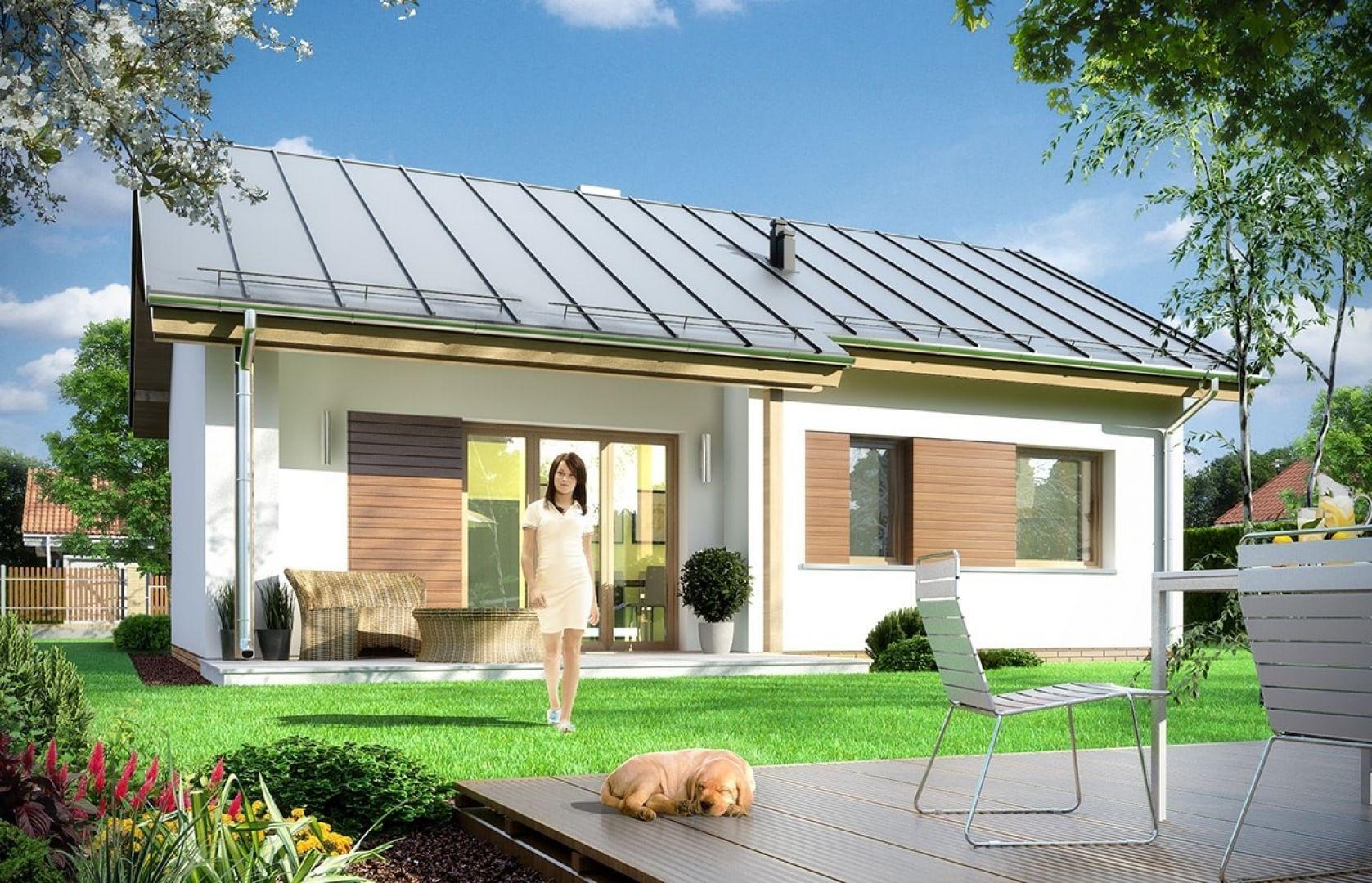 Dom Biedronka jest łatwy w budowie i tani w przyszłej eksploatacji.  Autorzy projektu