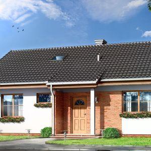 Perełka to domek parterowy, przeznaczony dla trzy-czteroosobowej rodziny. Autorzy projektu arch. Michał Gąsiorowski, pracownia MG Projekt