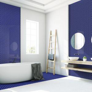Mozaika dostępna jest w szerokiej gamie kolorystycznej. Cena: 49,95 zł/cena za plater o wymiarach 290 x 300 mm. Fot. Raw Decor