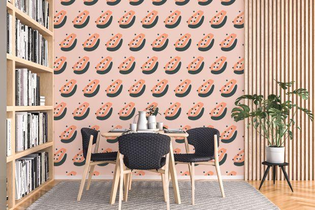 Czym wykończyć ścianę w salonie? Farba, drewno, panele? A może tapeta albo naklejki? Zobaczcie zwariowane pomysły kanadyjskiej designerki!
