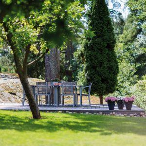 Wyjeżdżając na wakacje warto zabezpieczyć ogród, wyposażając go w odpowiedni sprzęt do nawadniania, który możemy zaprogramować stosownie do naszych potrzeb. Fot. Fiskars
