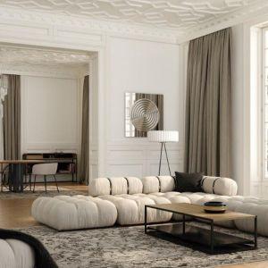 Kolekcja sof GIrO marki Absynth idealnie wpasuje się w piękne wnętrza we francuskim stylu. Fot. mat. prasowe Absynth