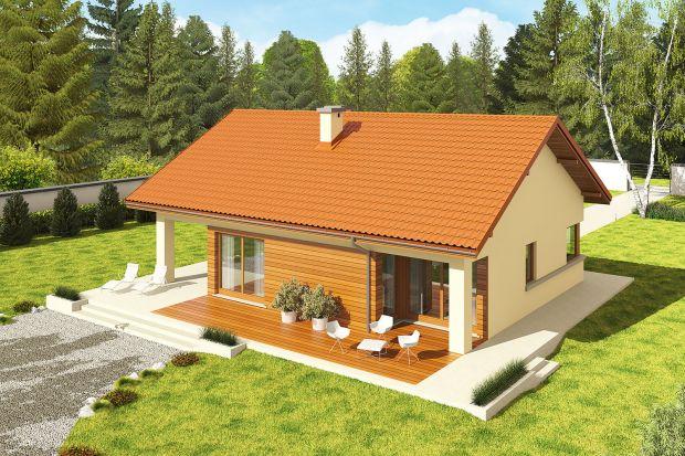 Ten dom o powierzchni68,40 m² to idealna propozycja dla niedużej rodziny. Jest wygodny, funkcjonalny i świetnie wygląda. To także dom ekonomiczny w realizacji i późniejszej eksploatacji.<br /><br /><br />