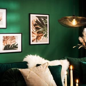 Lampa stojąca w stylu loft Mona dostępna w ofercie Salonów Agata. Cena: 299 zł. Fot. Salony Agata