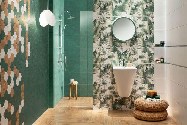 Łazienka w kwiatach: 6 pięknych pomysłów na płytki na ścianę. To jest modne!