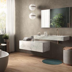 Wygodna, nowoczesna łazienka. Fot. Maxfliz/Galeria Wnętrz Domar
