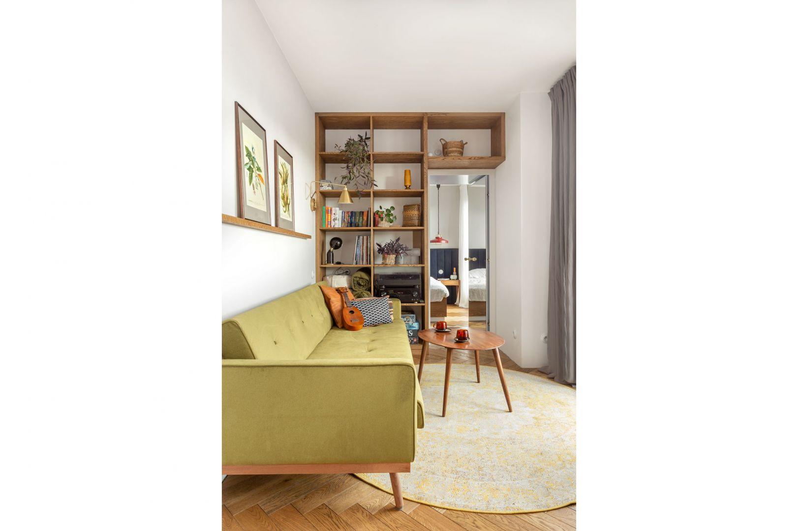 Indywidualne rozwiązania sprawiły, że to mieszkanie jest maksymalnie dostosowane do potrzeb właścicieli. Projekt: Patrycja Morawska. Fot. Anna Laskowska/Dekorialove