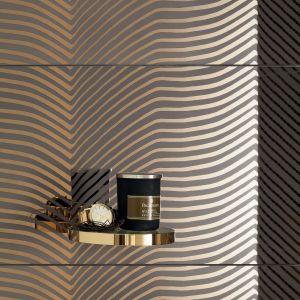 Kolekcja SHINE CONCRETE łączy w sobie pozornie sprzeczne zestawienie kolorów i faktur, pozwalając uzyskać w łazience niebanalne kontrasty. Nowość, Tubądzin, tubadzin.pl