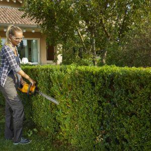By zadbać o mniejsze rośliny najlepiej wybrać niewielkie narzędzia ręczne, jak sekator akumulatorowy SHT 100 AE.