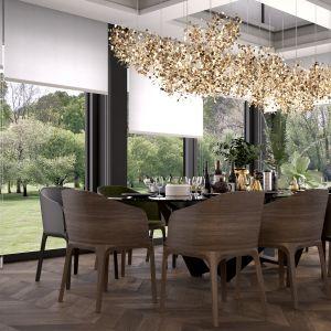 Czerń, drewno i złoto. Projekt domu dla pięcioosobowej rodziny. Projekt MIKOŁAJSKAstudio