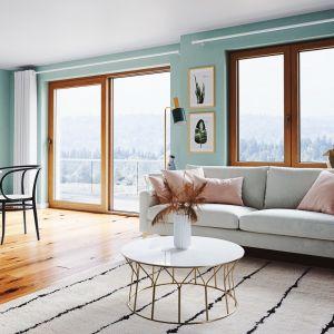 Drzwi tarasowe Slide dają szerokie możliwości aranżacyjne, można je dopasować do każdego stylu i wnętrza. Fot. Oknoplast