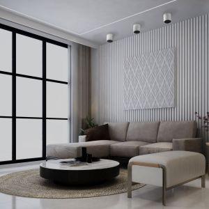Halo, nowość marki Nowodvorski Lighting to natynkowe oprawy punktowe o unikalnej konstrukcji, pozwalającej na uzyskanie efektu świecącej krawędzi. Fot. Nowodvorski Lighting