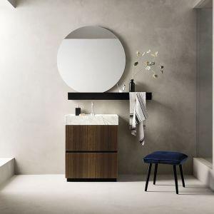 Minimalistyczna łazienka w stylu zen. Fot. mat. prasowe Laminam