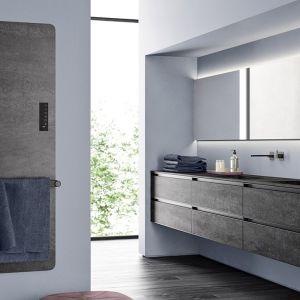Naturalna, nowoczesna sypialnia, urządzona przy użyciu spieków kwarcowych. Fot. mat. prasowe Laminam