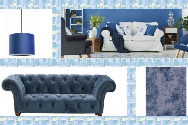 Kolor niebieski to idealny wybór do każdego salonu. Jest bardzo efektowny, modny i pięknie wygląda. Niebieska może być w salonie ściana, dywan, lampa lub poduszki.