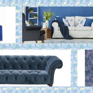 Modny salon 2021: niebieski to hit.