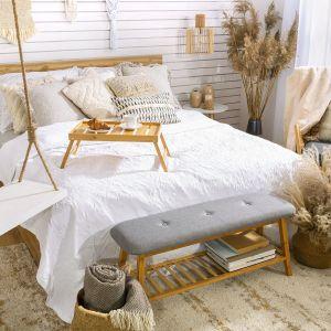 Sypialnia w stylu boho. Fot. BRW