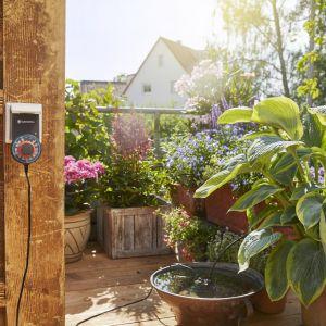 Automatyczna konewka do skrzynek balkonowych, cena sugerowana: 608 zł. Fot. Gardena