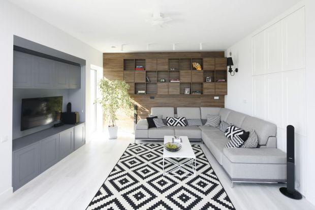 Jak połączyć ze sobą podłogę i ściany wsalonie?W naszej galeriipokazujemy8 świetnych zestawień! Zobaczcie dobre pomysły na podłogę i ściany w pokoju dziennym!